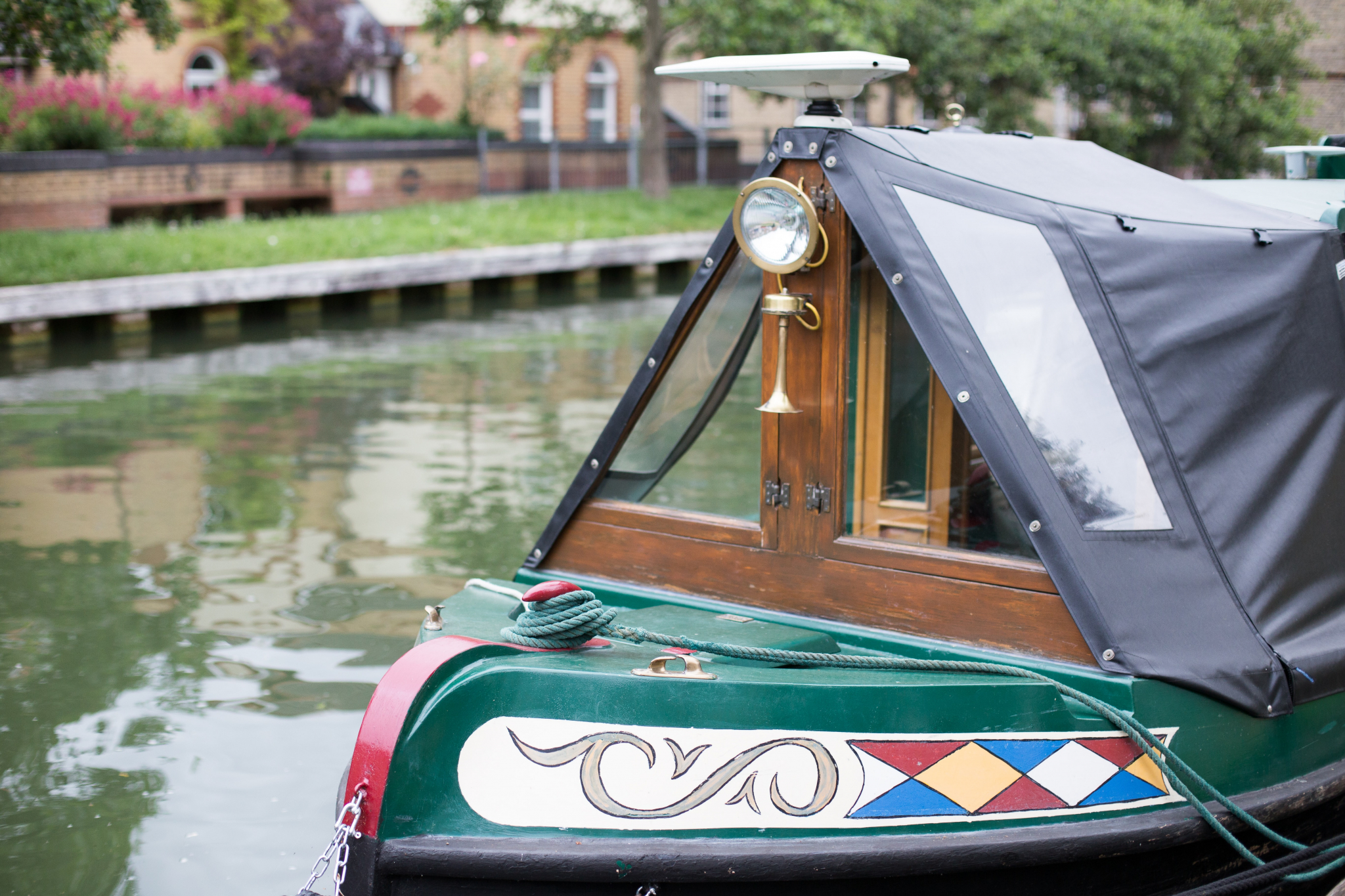 Boat on canal