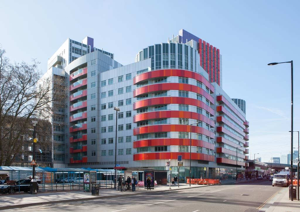 New flats in Canning Town