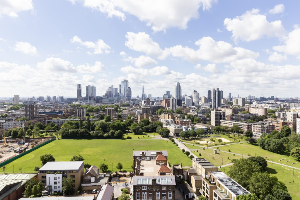 The view from the Hoxton Press building