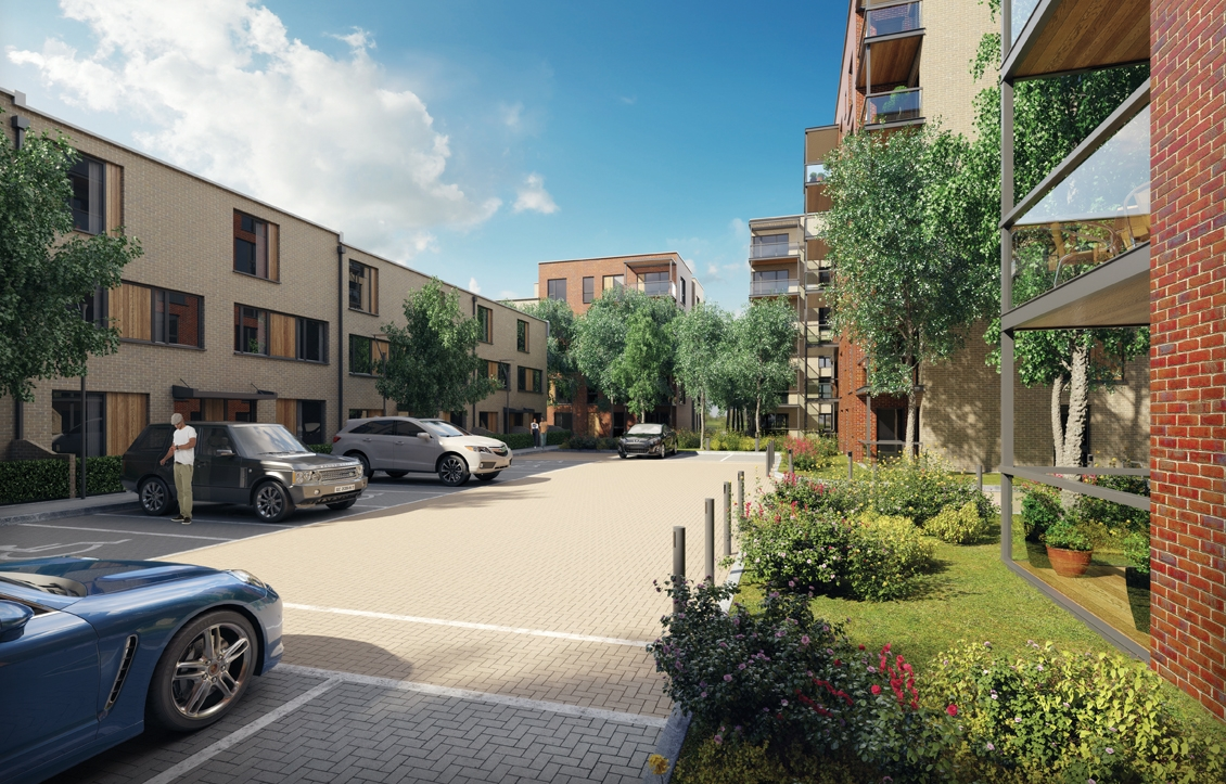 New flats in Colindale