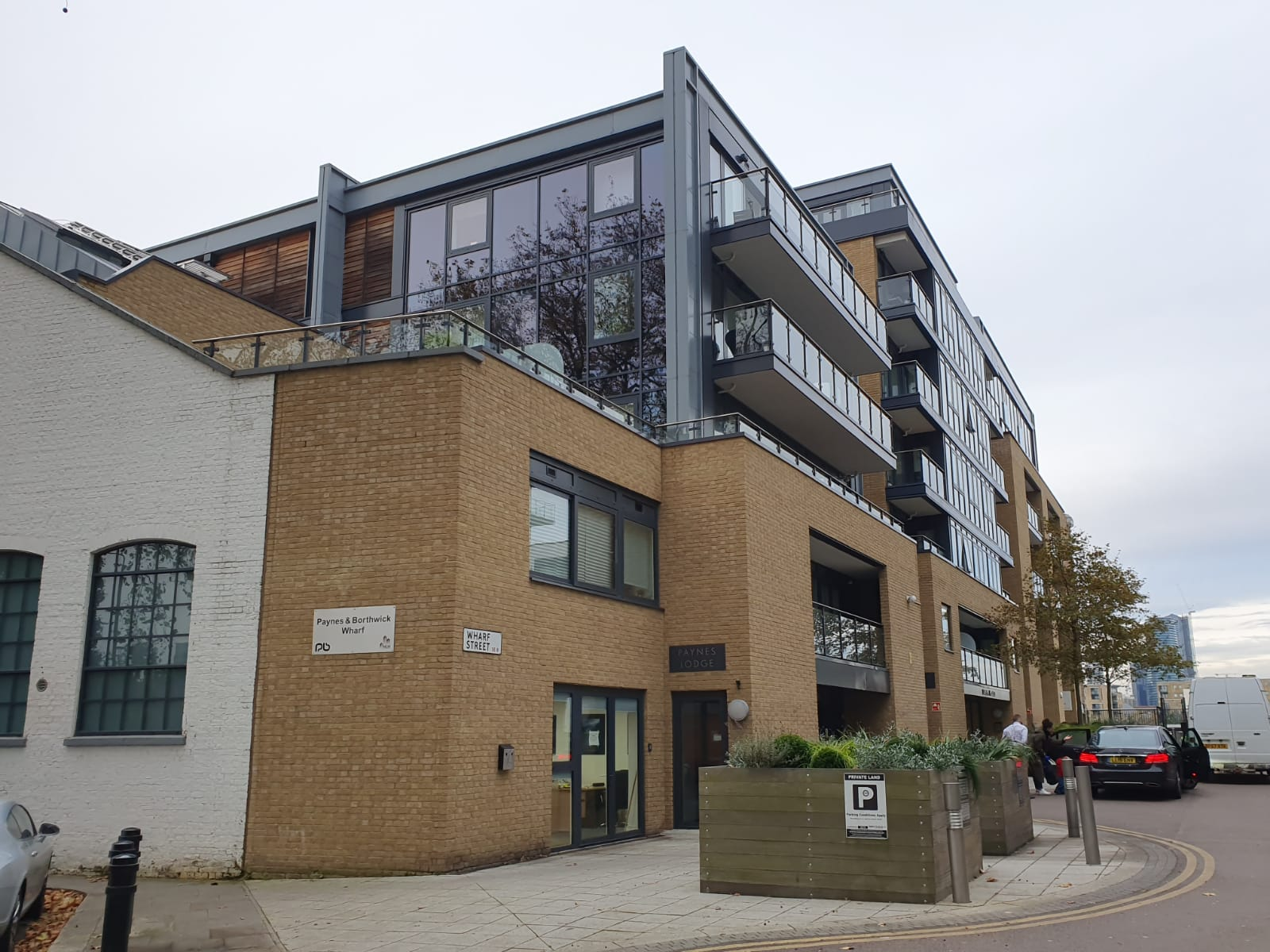 New flats in Deptford