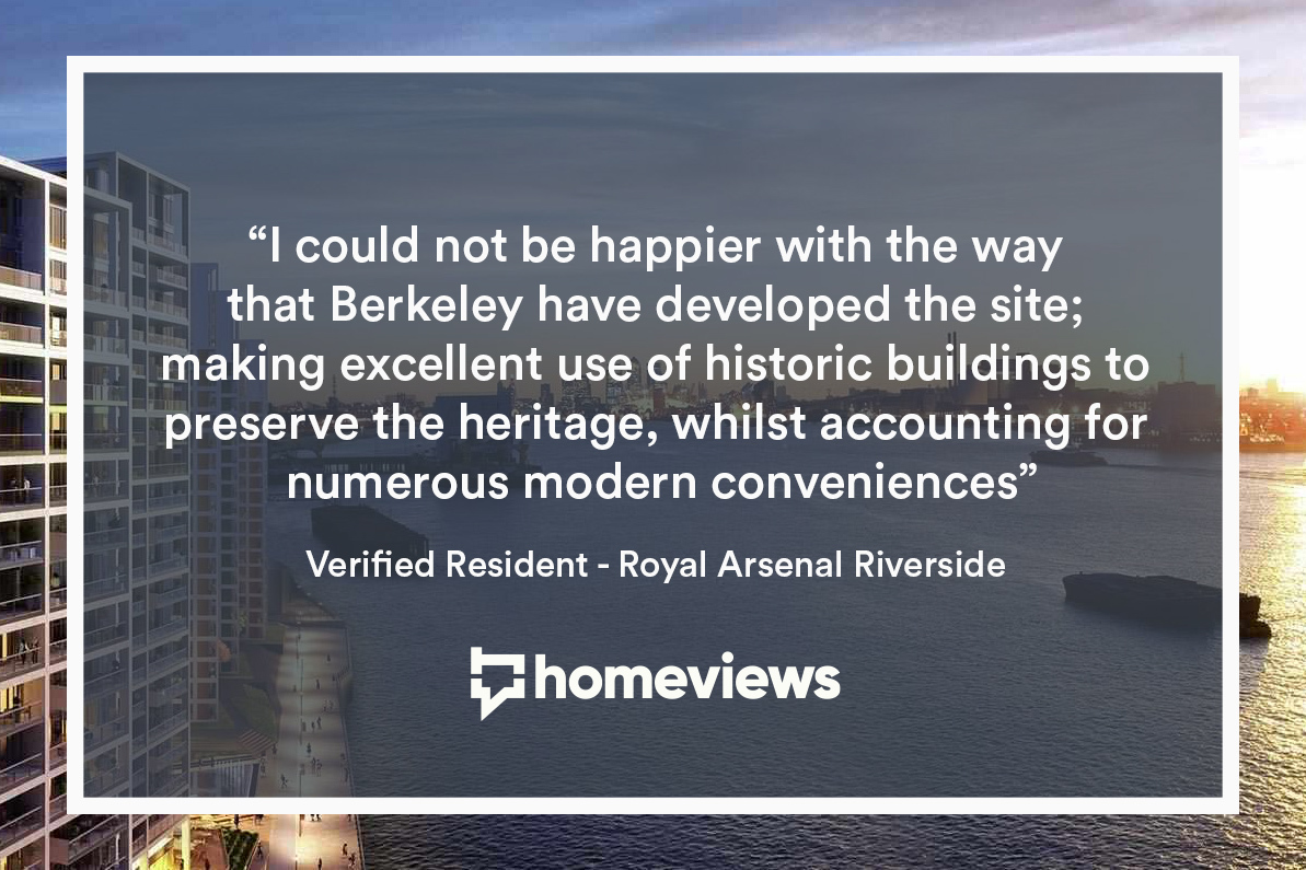 Top london developers Berkeley Homes resident quote