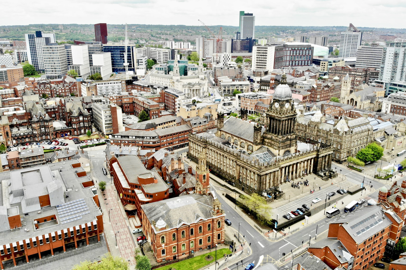 Leeds from above