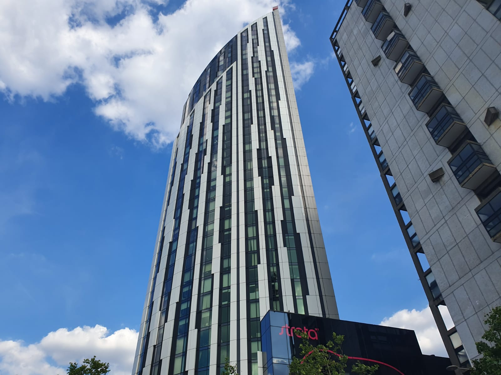 New flats in Elephant and Castle