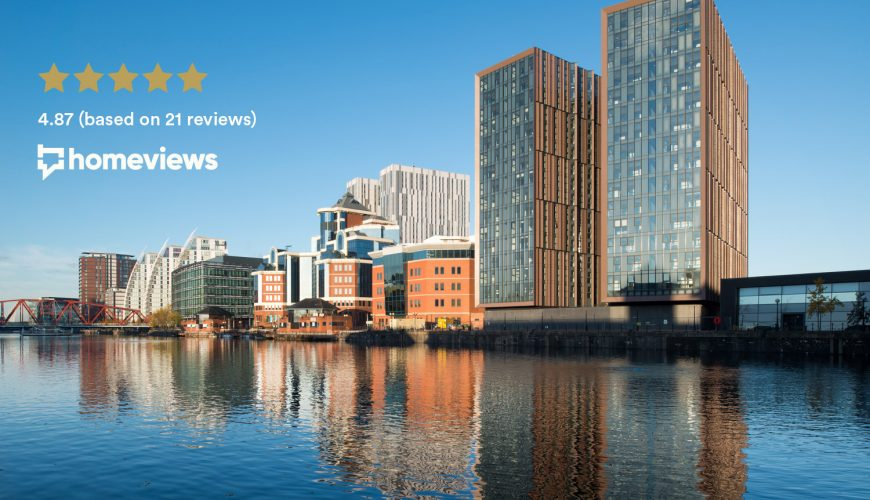 Manchester's Duet rated the best residential development in the UK
