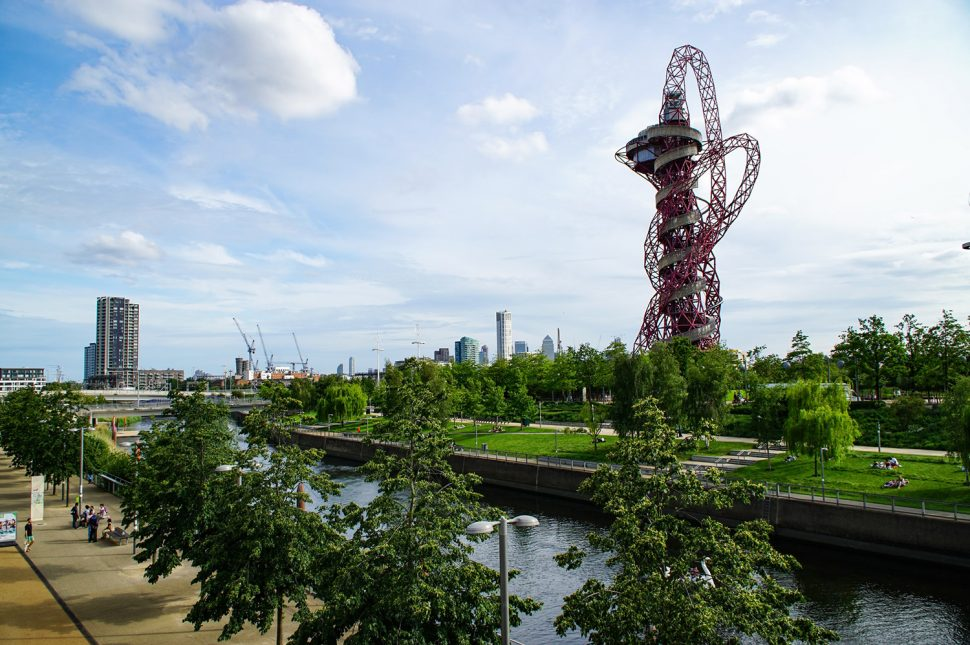 Queen Elizabeth Olympic Park and the ArcelorMittal Orbit