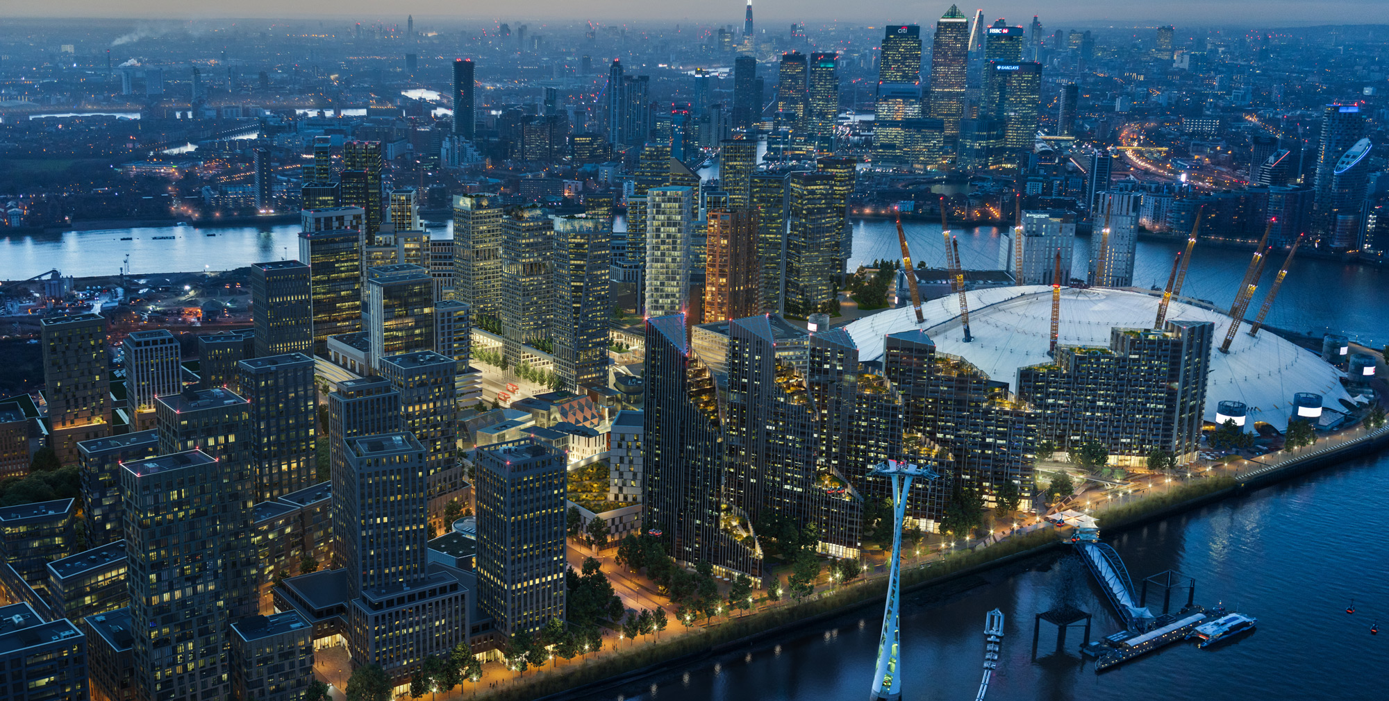 Greenwich Peninsula - one of our top areas for property investment in London