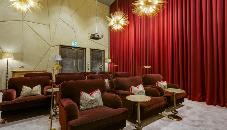 Stunning London rental apartments with private cinemas