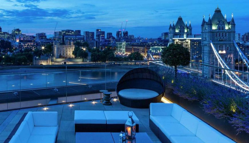 Communal roof terrace brings 8% price premium and boosts resident ratings
