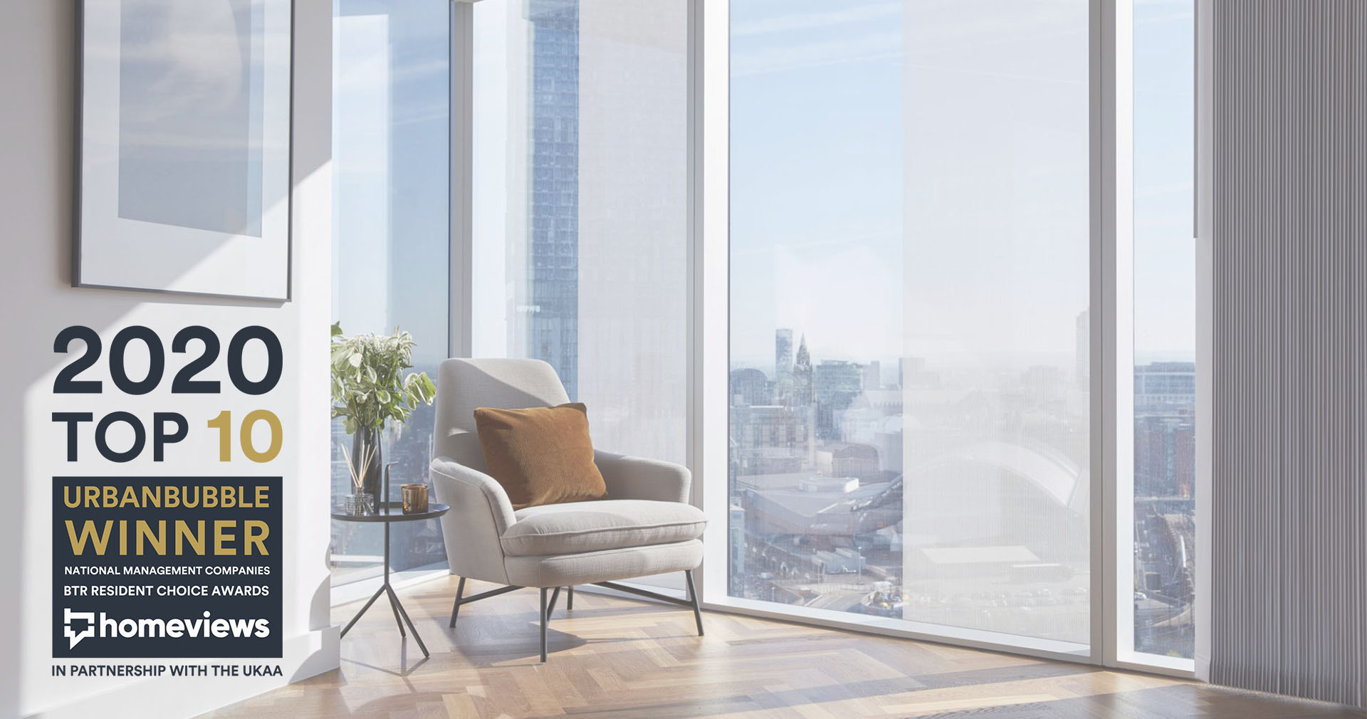 Flat interior by Urbanbubble - the top BTR property management company in 2020
