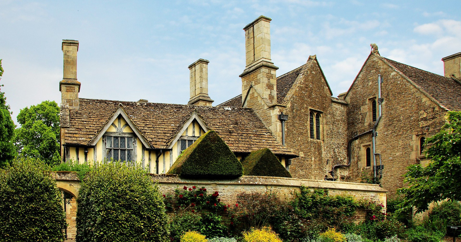 Grade 2 listed building Great Chalfield Manor House
