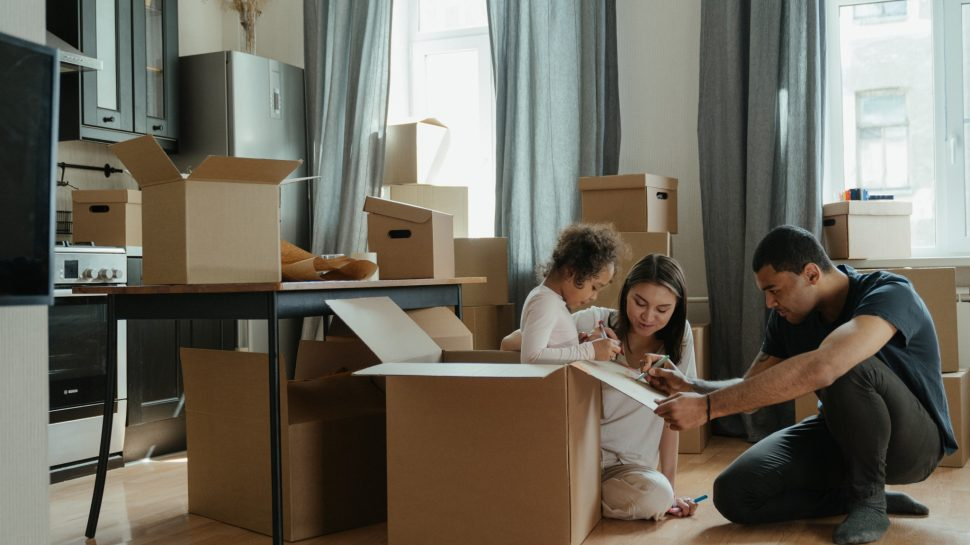 Removal costs UK family