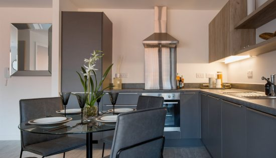 Kitchen in a 2bed flat, Vox