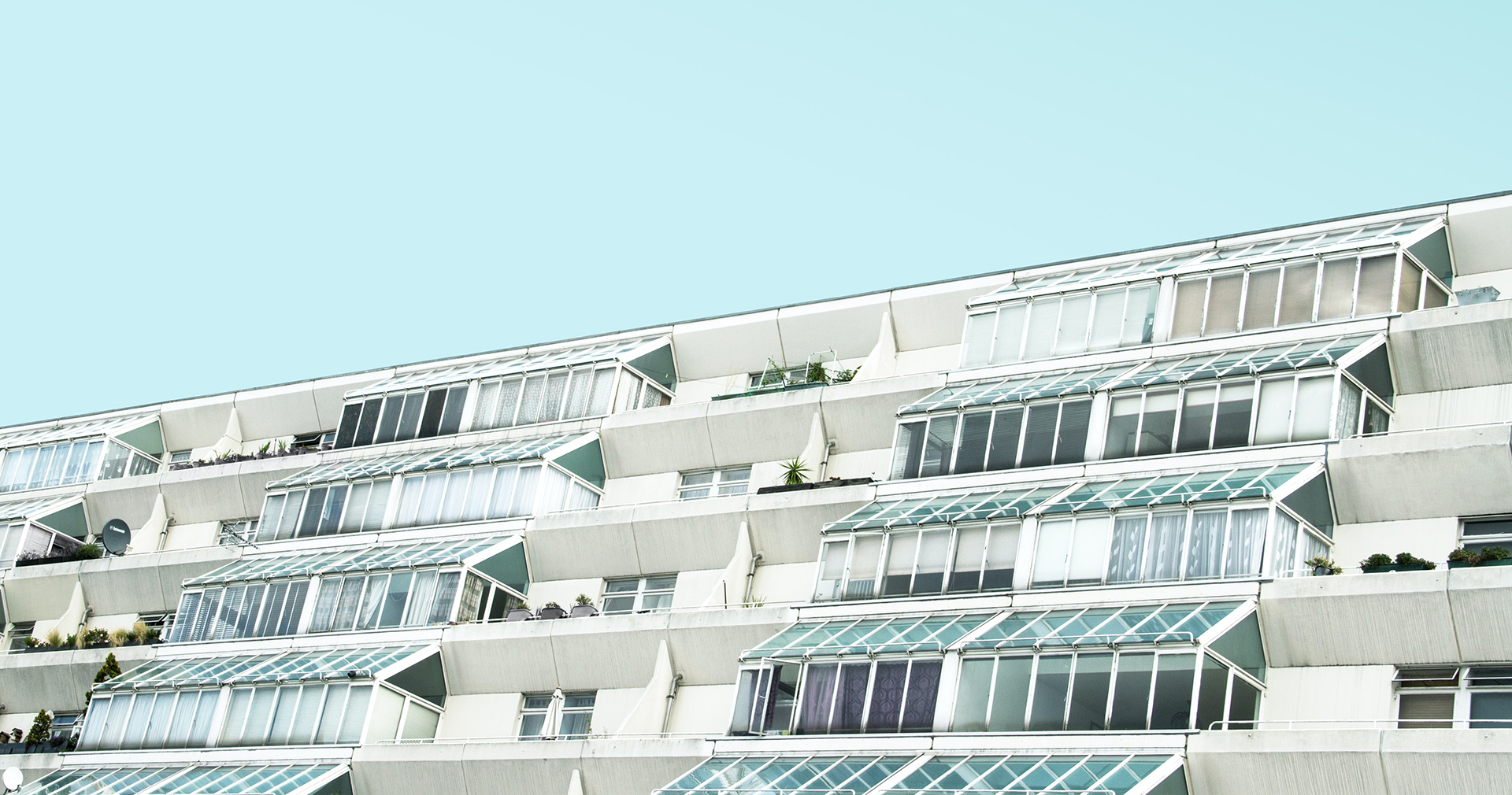 The Brunswick Centre social housing in Bloomsbury, London
