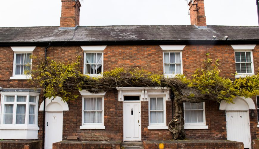 What does 'terraced house' mean?